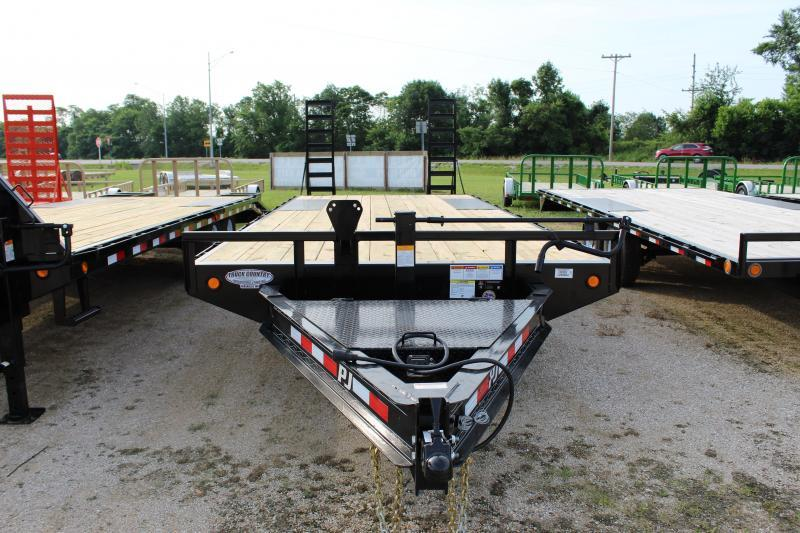2019 PJ Trailers F8' 22 Deckover Equipment Trailer