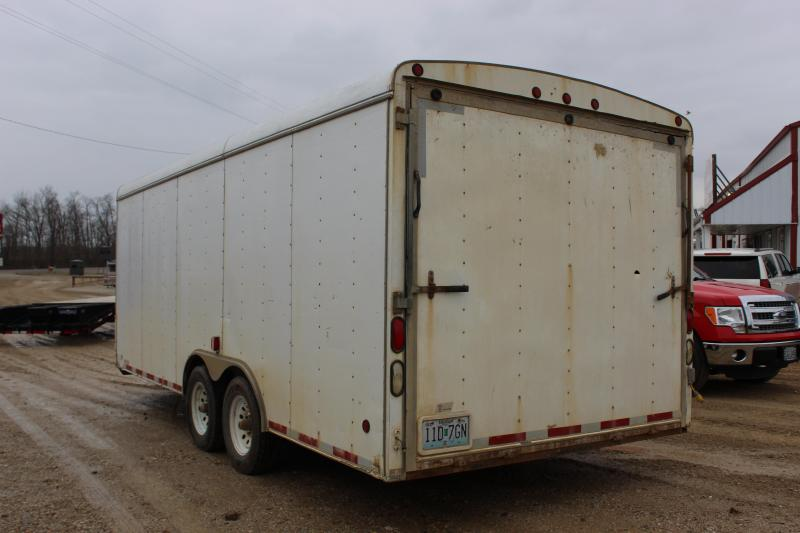 2006 Danze 8.5x20 Enclosed Cargo Trailer