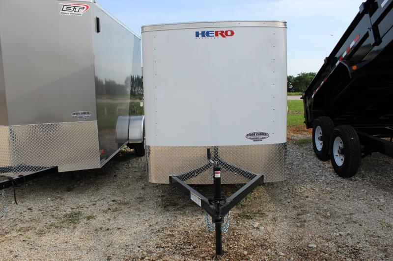 2019 Bravo Trailers 5x8 Hero Enclosed Cargo Trailer