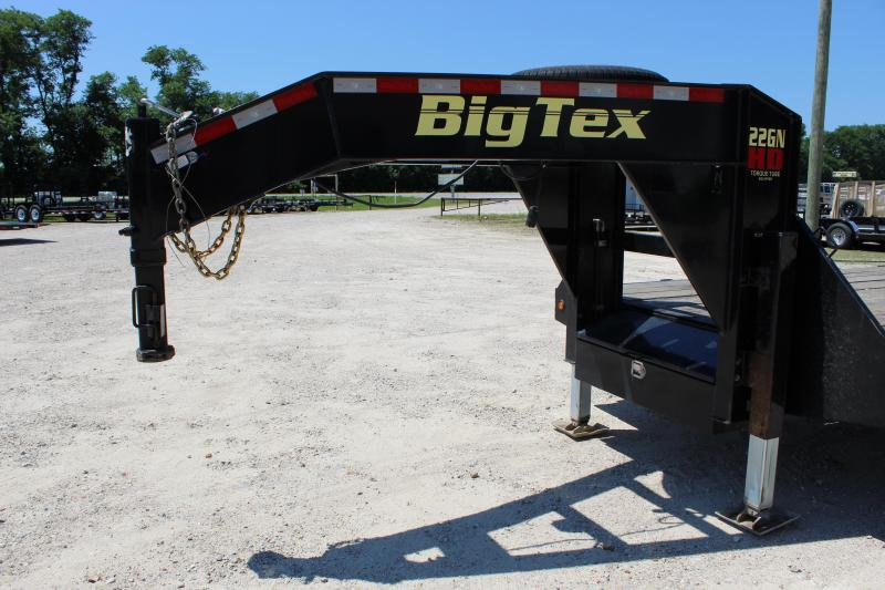 2016 Big Tex Trailers 35' gooseneck hydraulic dovetail Flatbed Trailer