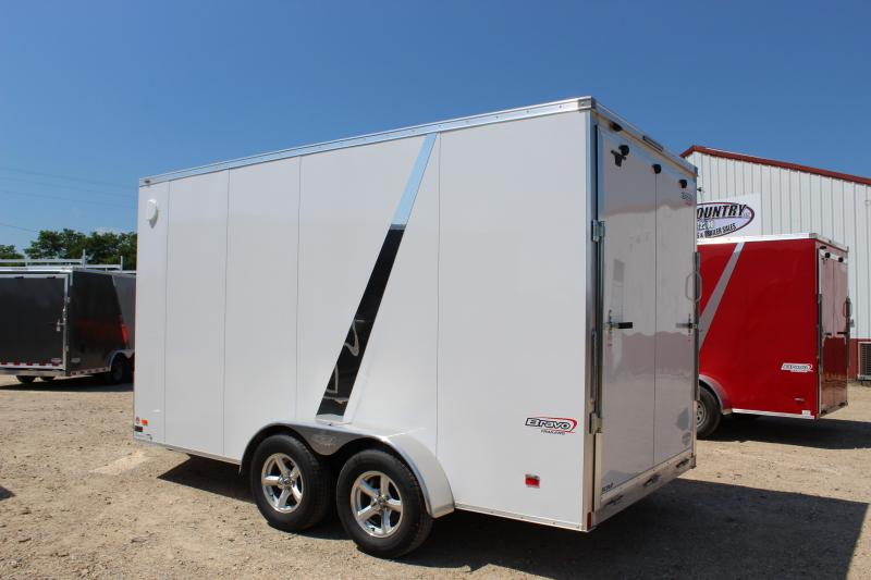 2019 Bravo Trailers 7x14 aluminum scout Enclosed Cargo Trailer