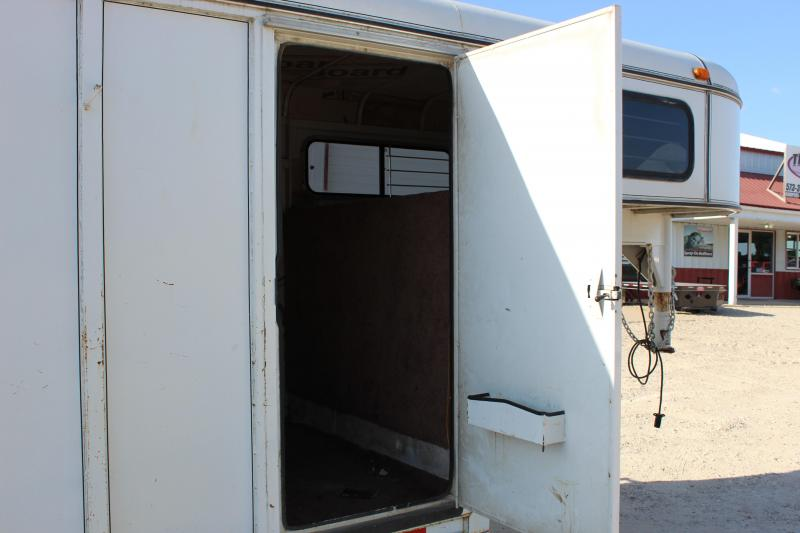 2001 S&H Trailers 20' gooseneck 4-horse slant Horse Trailer