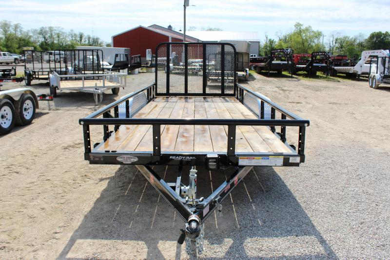 2020 PJ Trailers UK 77x16 Utility Trailer
