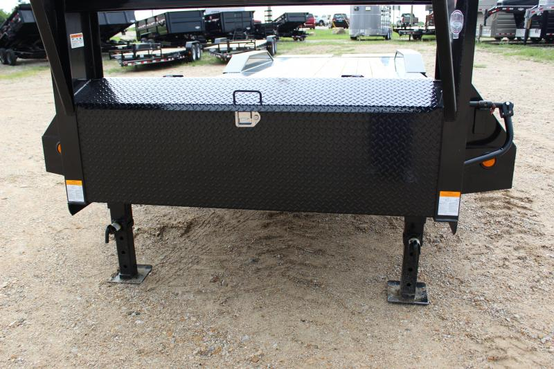 2019 PJ Trailers H7 28 gooseneck Equipment Trailer