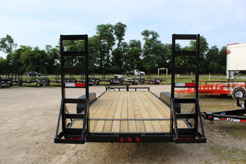2019 PJ Trailers CC 22' Equipment Trailer