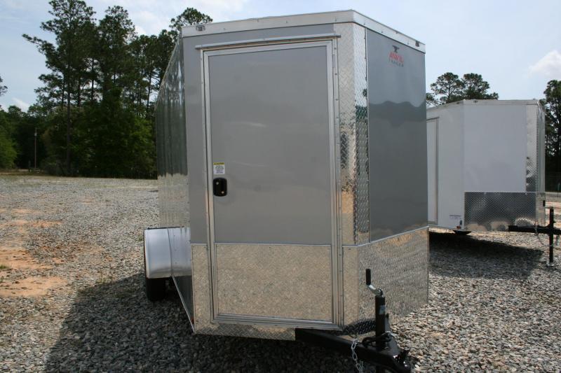 2019 Anvil 6X12 SA Enclosed Cargo Trailer