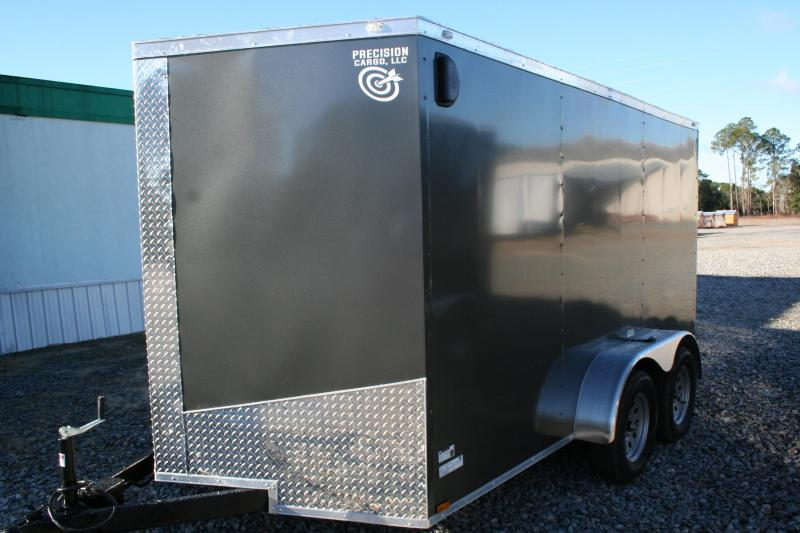 2019 Precision 7X12 TA Enclosed Cargo Trailer