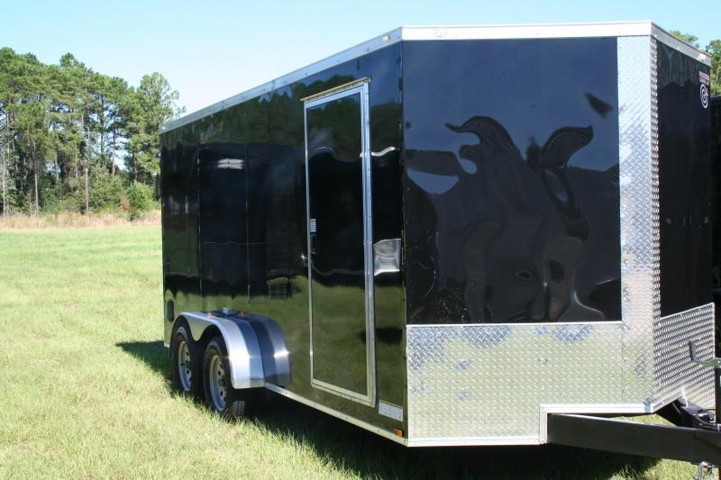 2019 Precision 7x16 TA Enclosed Cargo Trailer