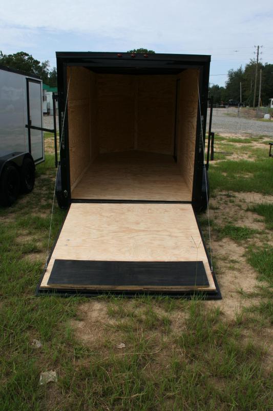 2019 Precision 6x12 TA Enclosed Cargo Trailer