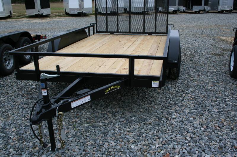 2019 Arch Cargo 82x12' TA utility trailer ATV Trailer