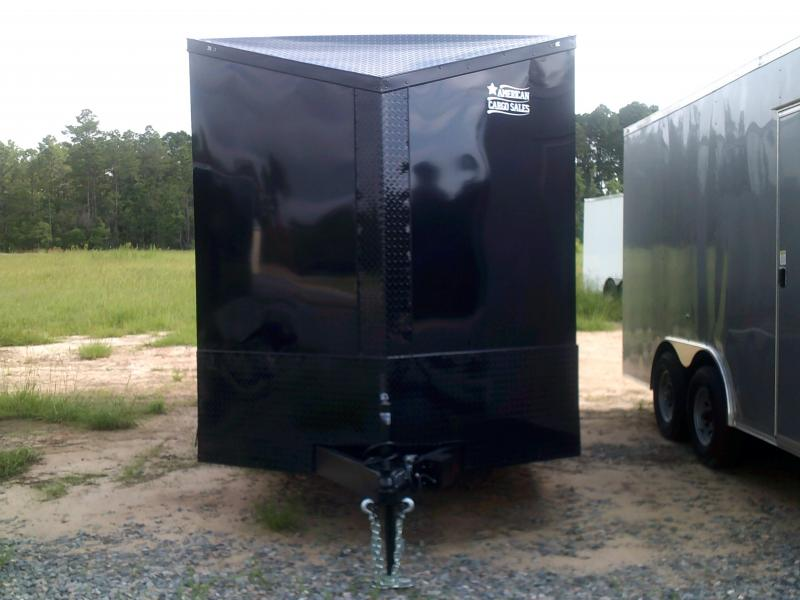7'X16' DOUBLE AXLE BLACK-OUT