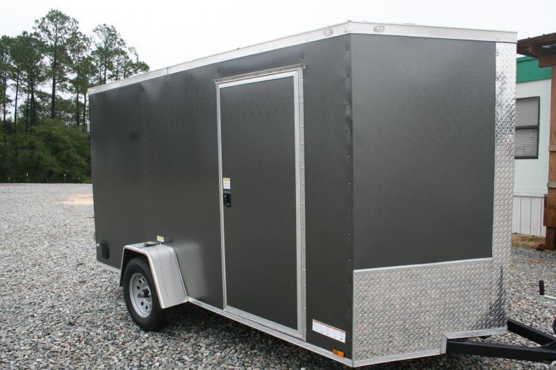 2019 Precision 6X12 SA Enclosed Cargo Trailer
