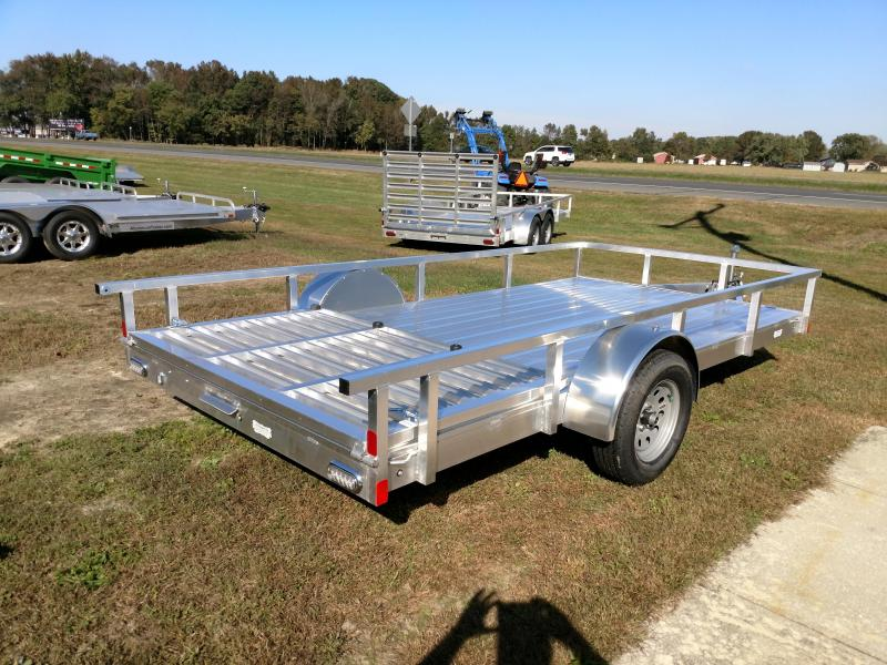 2019 Aluminum Trailer Company 80x14 Single Axle Utility Trailer