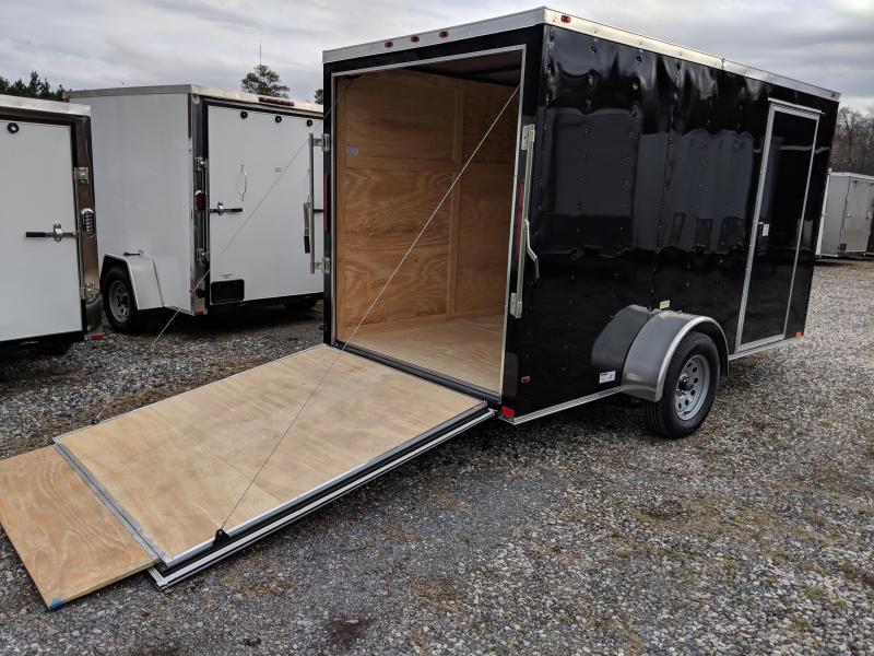 2019 Empire Cargo 6X12SA Enclosed Cargo Trailer