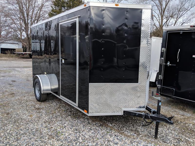 2019 Empire Cargo 6X12SA Enclosed Cargo Trailer