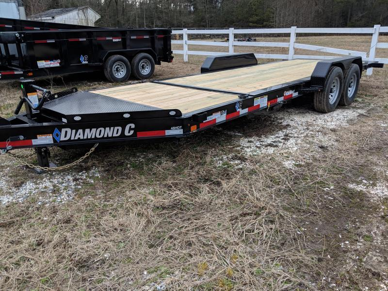 2019 Diamond C Trailers 48HDT Equipment Trailer