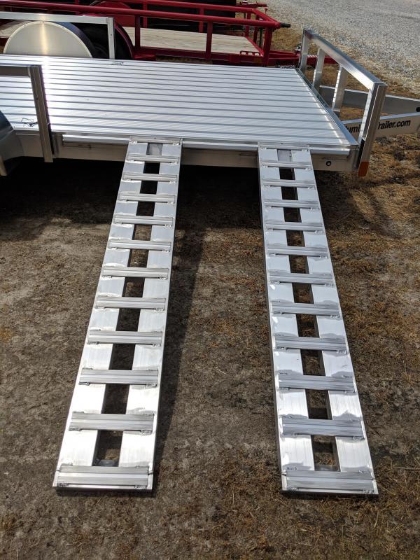 2019 Aluminum Trailer Company 7X12 Utility Trailer