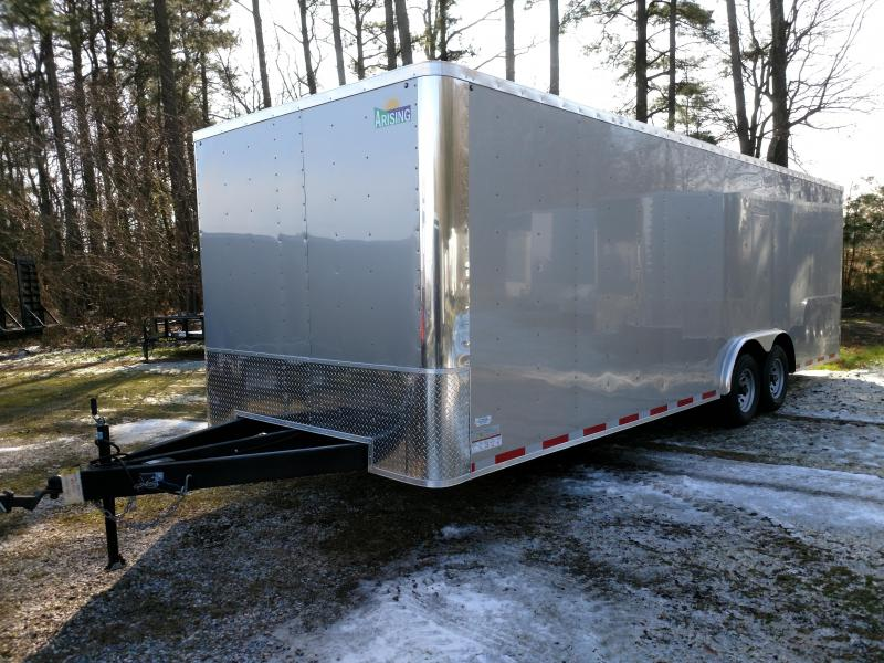 2019 Arising 8.5x24 Flat 10k Enclosed Cargo Trailer
