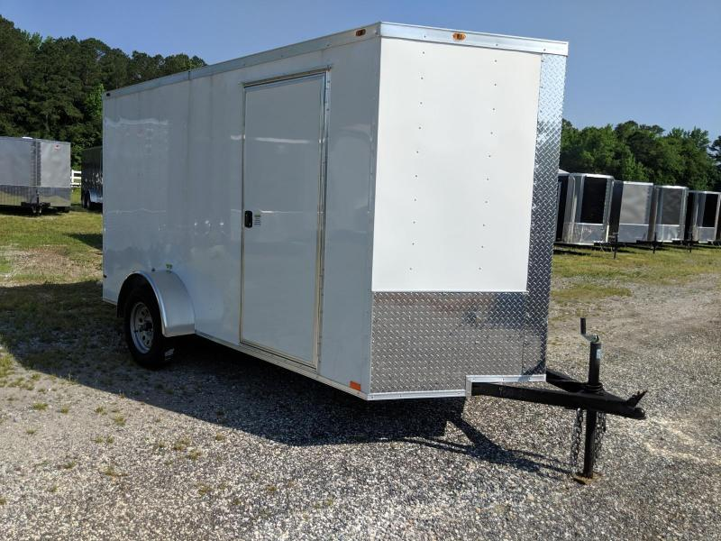 2019 Empire Cargo 6x12 v-nose w/ramp Enclosed Cargo Trailer