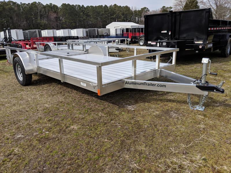 2019 Aluminum Trailer Company OUTAB7014 Utility Trailer