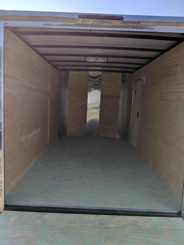 2019 Arising 7X12 Enclosed Cargo Trailer