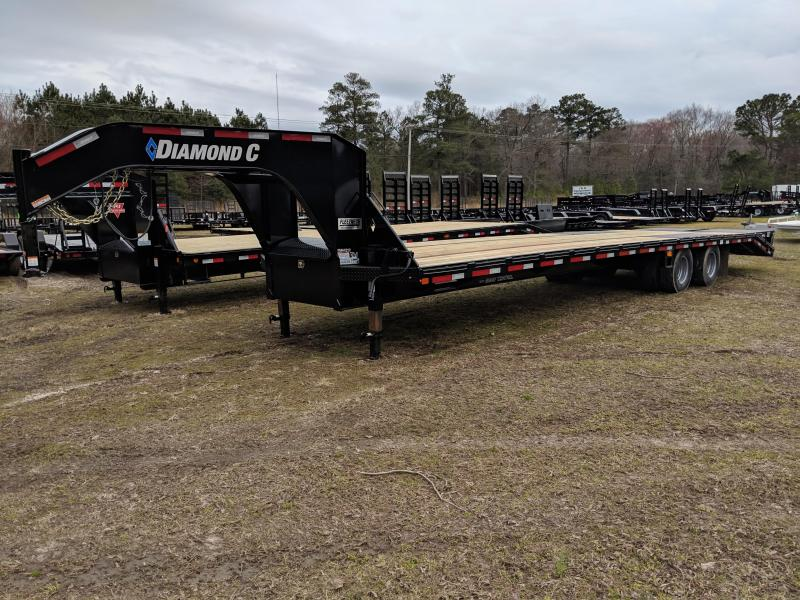 2019 Diamond C Trailers FMAX212 Equipment Trailer