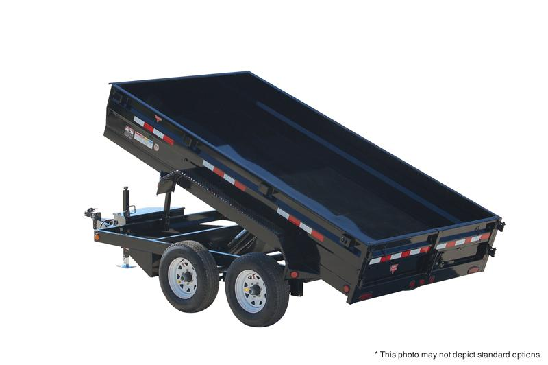 "2018 PJ Trailers 12'x78""  Medium Duty Dump Trailer"