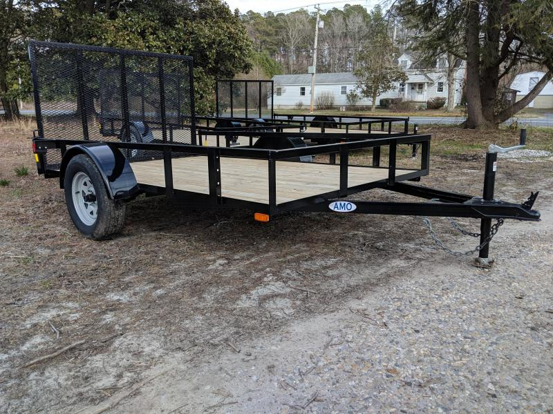 2019 American Manufacturing Operations (AMO) 76x10 Utility Trailer