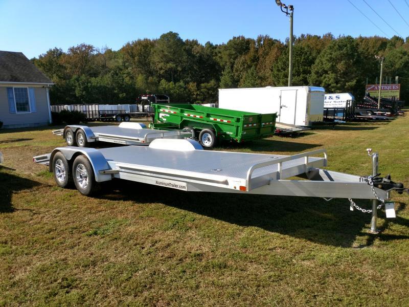 2017 Aluminum Trailer Company AFB20BXWRD - 20 Carhauler Car / Racing Trailer
