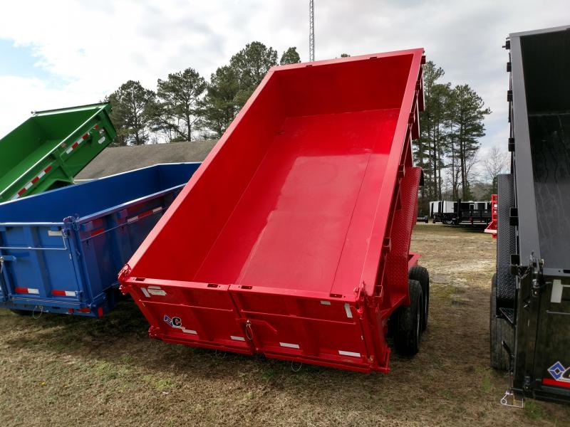 2019 Diamond C Trailers 48HDT 82x14 w/ 32 in. sides Dump Trailer