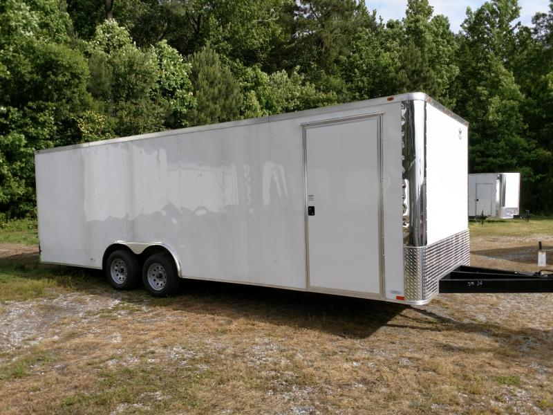 2019 Empire Cargo 8.5x24 7k Flat Front Car / Racing Trailer