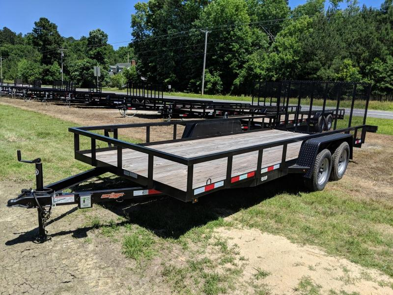 2018 Down 2 Earth Trailers 18TA Utility Trailer