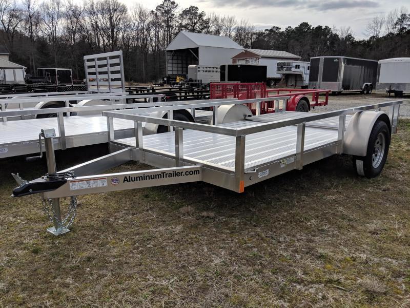 2019 Aluminum Trailer Company OUTAB6012 Utility Trailer
