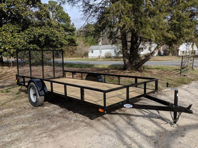 2019 American Manufacturing Operations (AMO) US14 Utility Trailer