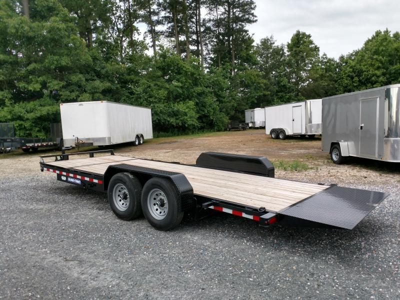 2019 Sure-Trac 14k 7x22 Partial Tilt Equipment Trailer