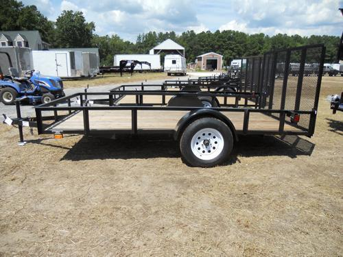 6 X 10 Single Axle Utility Trailer