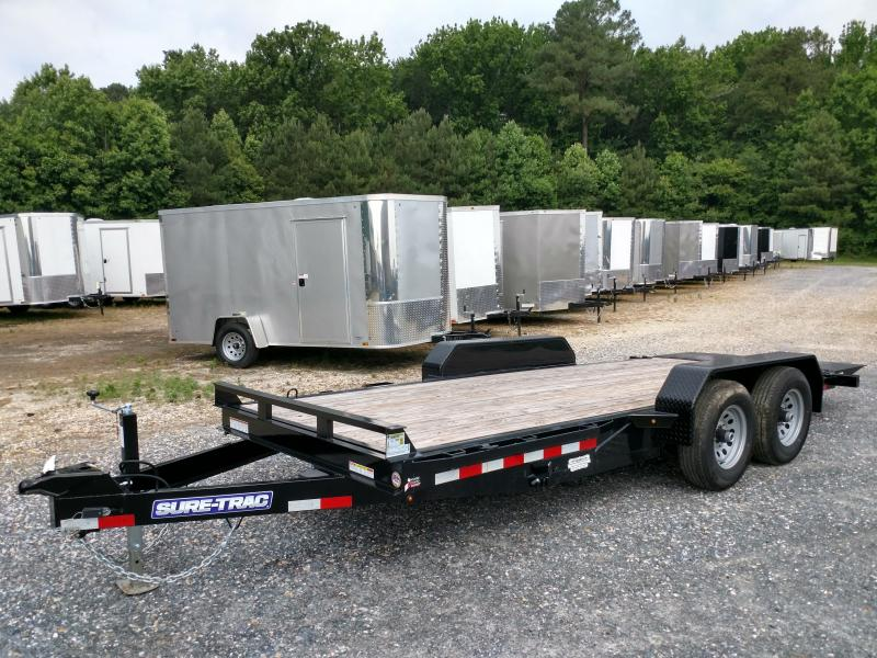 2019 Sure-Trac 82x18 10k Tilt Equipment Trailer