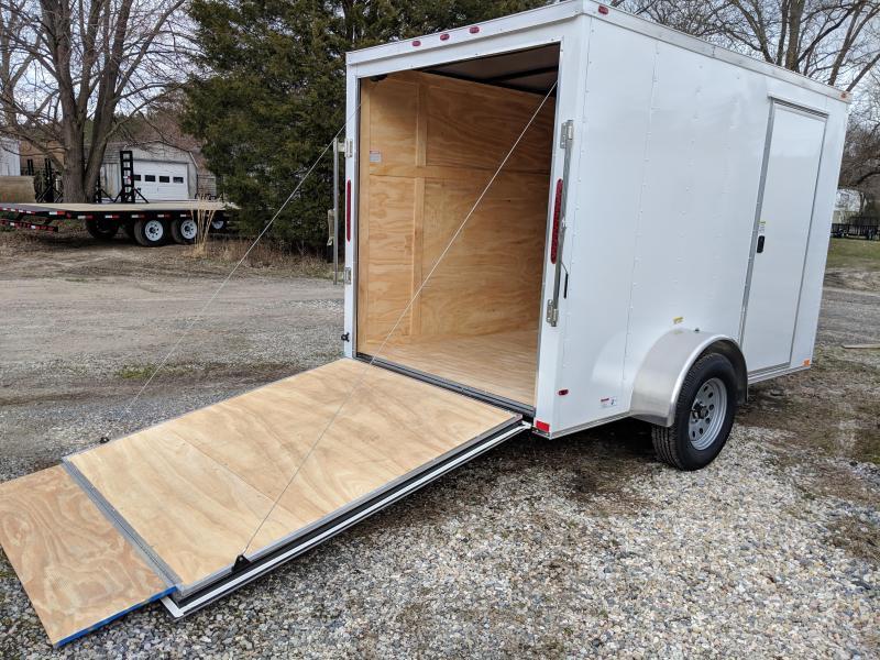 2019 Empire Cargo 6X10SA Enclosed Cargo Trailer