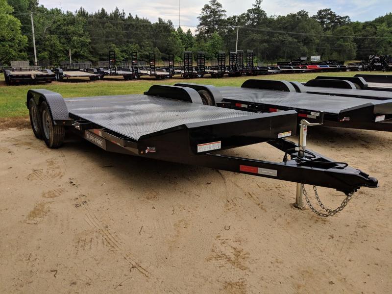 2019 Sure-Trac 7 x 18 Steel Deck Car Hauler 7k