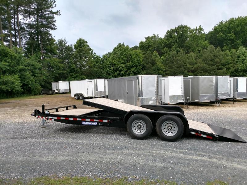 2019 Sure-Trac 14k 7x20 Partial Tilt Equipment Trailer
