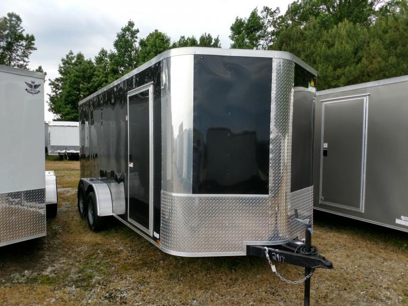2019 Arising 7x16 7k Enclosed Cargo Trailer