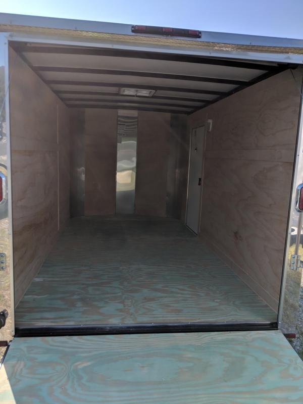 2018 Arising 7X12 Enclosed Cargo Trailer