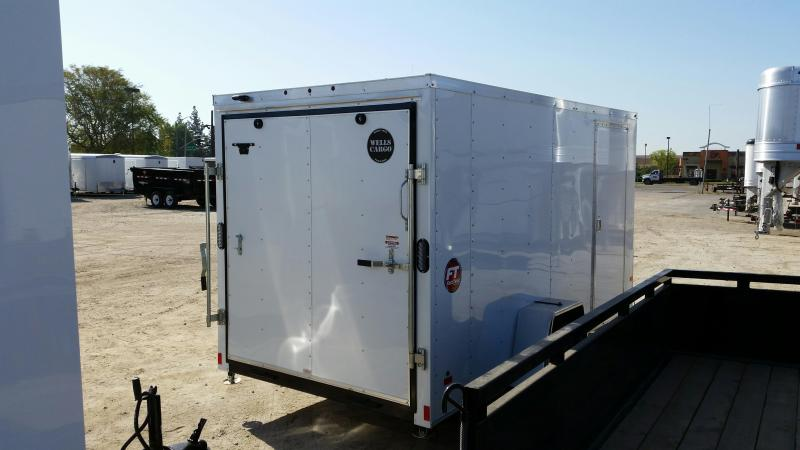 2020 Wells Cargo FT6121-LE Enclosed Cargo Trailer
