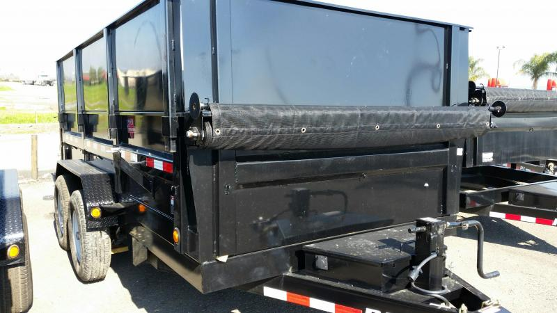 2018 PJ Trailers 83 in. Tandem Axle Dump (D7) Dump Trailer