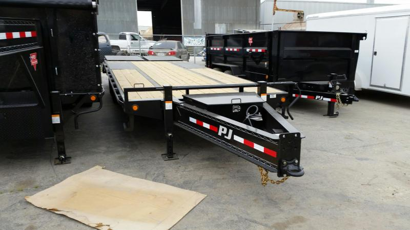 2019 PJ Trailers Low-Pro Pintle with Duals (PL) Flatbed Trailer