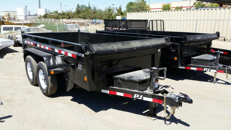 2020 PJ Trailers 72 in. Tandem Axle Dump (D3) Dump Trailer