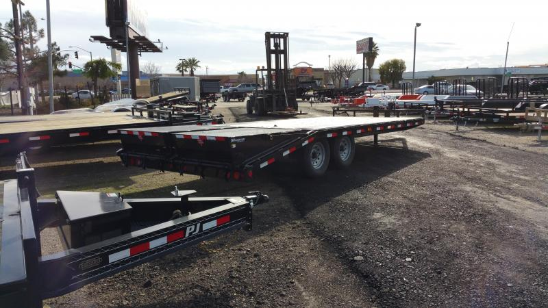 2019 PJ Trailers 8 in. I-Beam Deckover (F8) Equipment Trailer