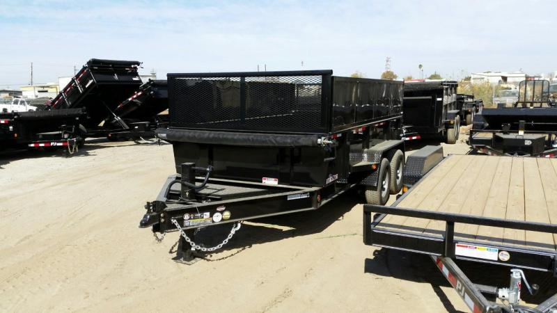 2017 Iron Panther DT295 Dump Trailer