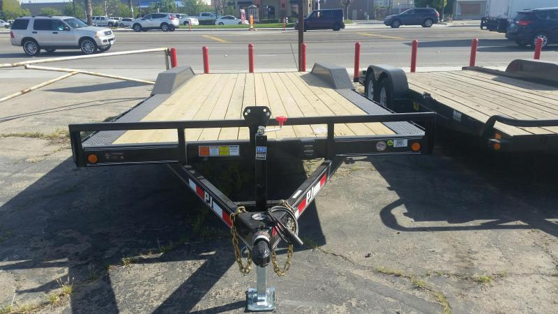 2019 PJ Trailers 5 in. Channel Buggy Hauler (B5) Car / Racing Trailer