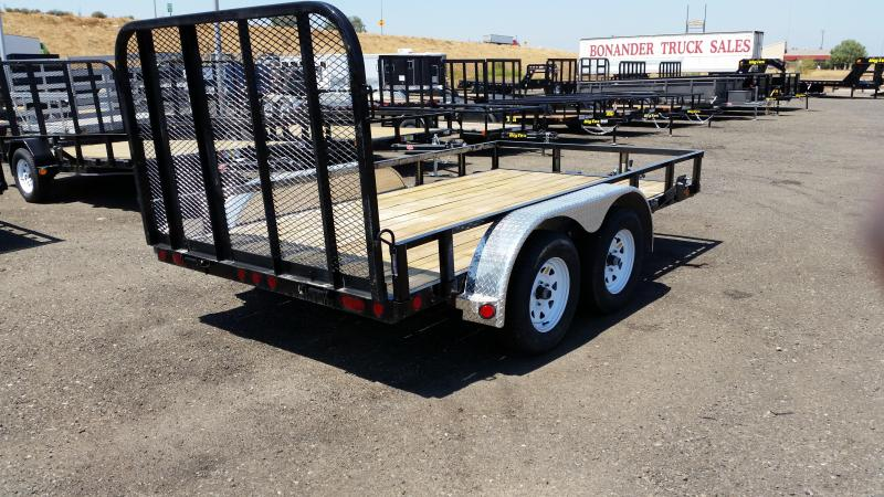 2018 PJ Trailers 77 in. Tandem Axle Channel Utility (UK) Enclosed Cargo Trailer